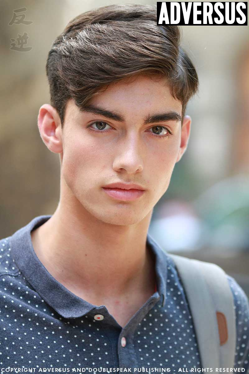 Men's hair trend Summer 2018 - Photo Mauro Pilotto