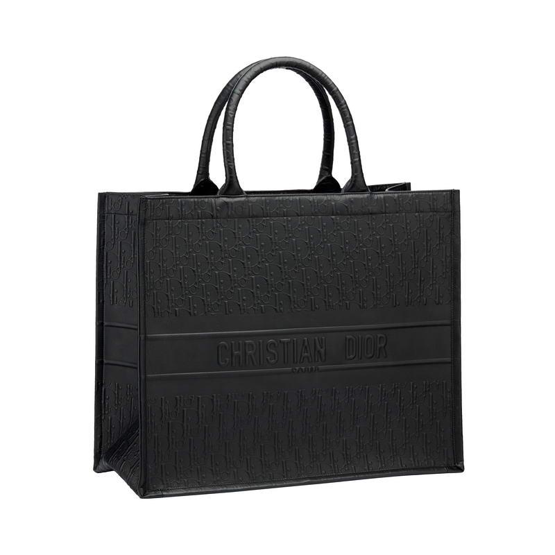 """Dior Book Tote"" bag in Dior Oblique embossed black smooth calfskin – HK$29,500"