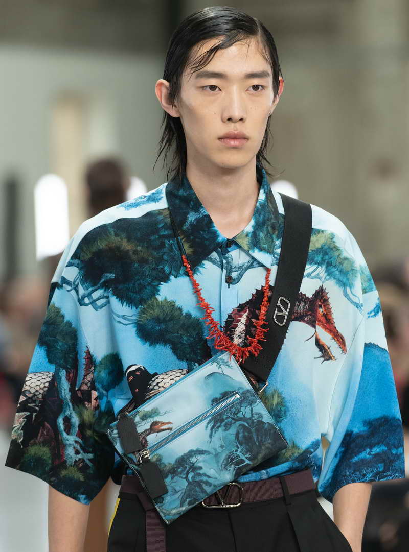 VALENTINO MEN'S COLLECTION SPRING/SUMMER 2020