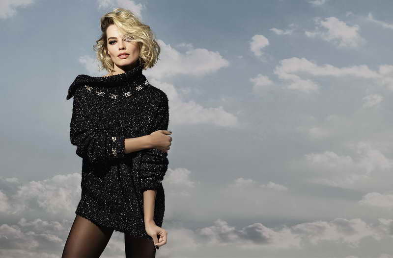 MARGOT ROBBIE, FACE OF CHANEL'S COCO NEIGE COLLECTION CAMPAIGN