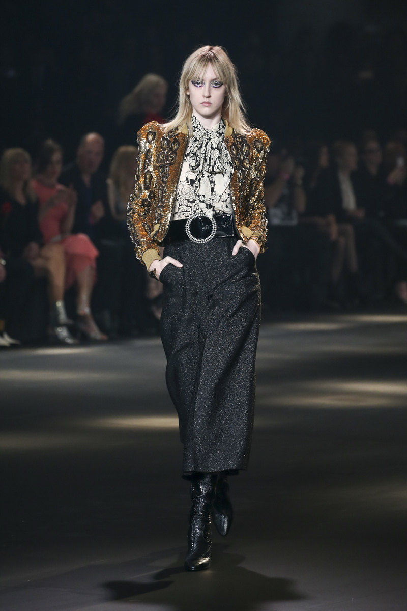 Saint Laurent at the Palladium - The Saint Laurent los angeles show, a tribute to Los Angeles music scene