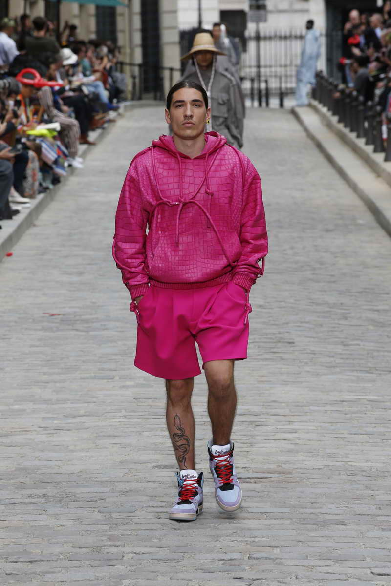 Louis Vuitton Men's Collection by Virgil Abloh Spring-Summer 2020 - Louis Vuitton / Ludwig Bonnet