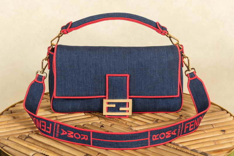 Fendi: the ultimate icon. This is not a bag. It's aBaguette!