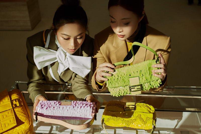 FENDI Baguette Friends Forever Miki Tang & Ikwa