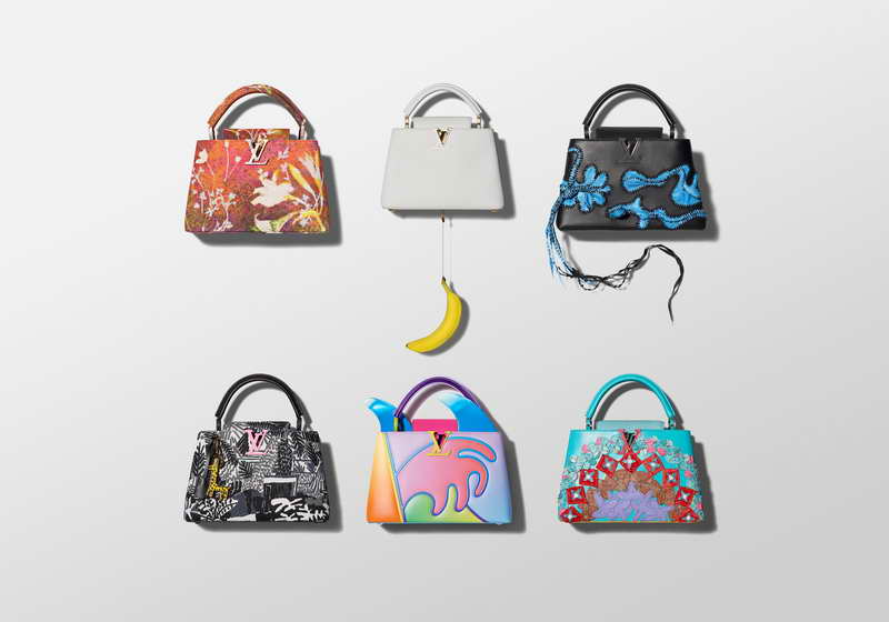 LOUIS VUITTON. THE ARTYCAPUCINES LIMITED EDITION COLLECTION