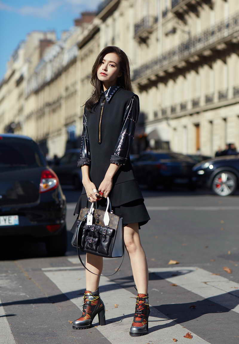 Louis Vuitton. Janice Man Street Snap In Paris