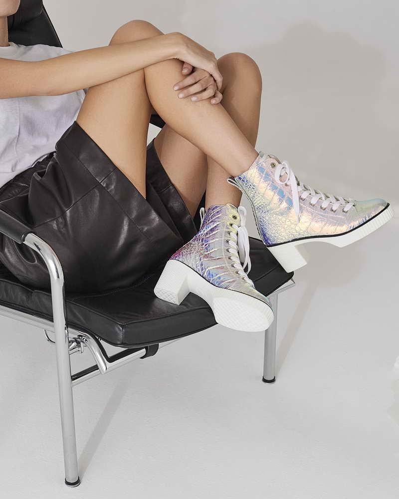 Giuseppe Zanotti NIDIR Retro Heel Sneakers