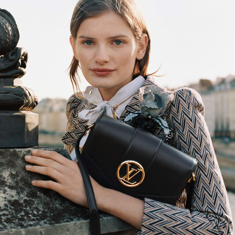Louis Vuitton launches the LV Pont 9, a modern, yet timeless new leather bag.