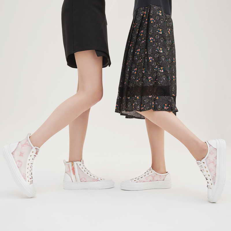 Louis Vuitton welcomes the Pre-fall season by bringing new refined detailing to beloved sneaker designs