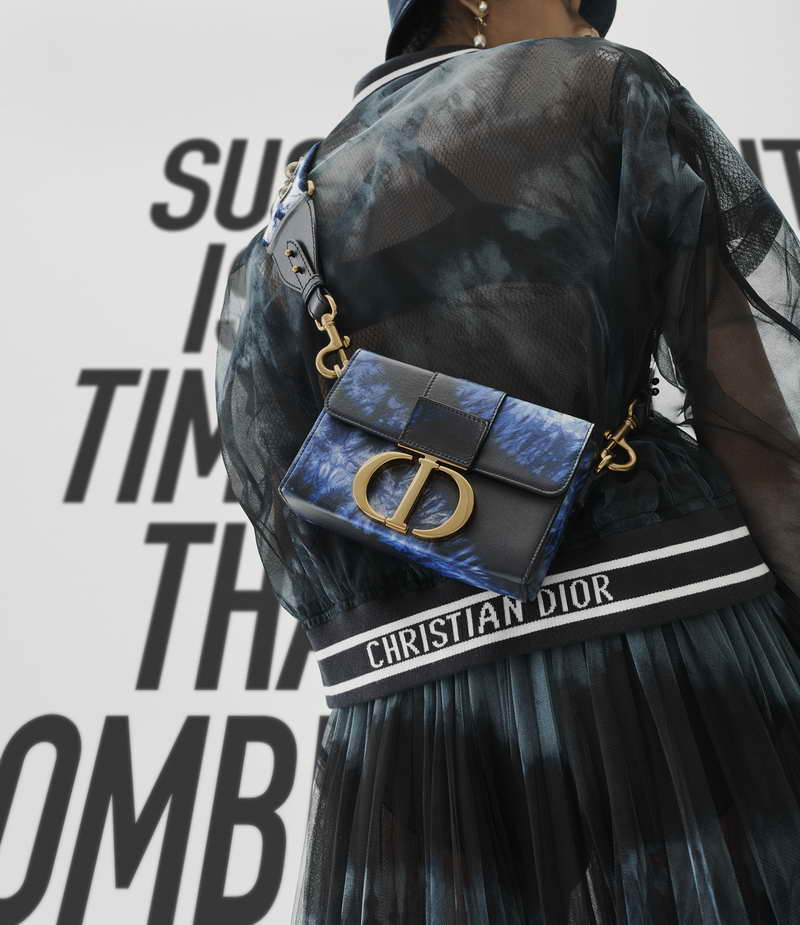 DIOR PRESENTS ITS TIE-DYE CREATIONS