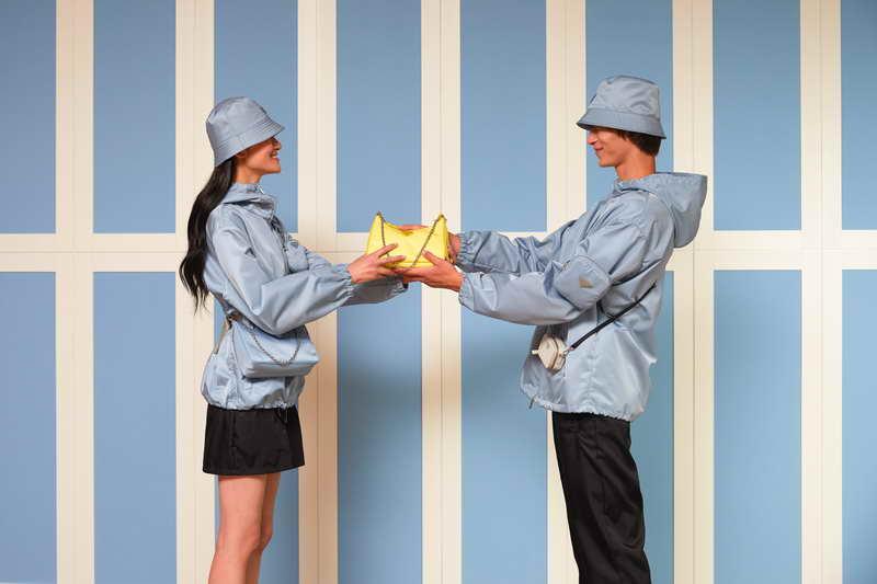Prada celebrates the Qixi Festival 'The Modern Tale'