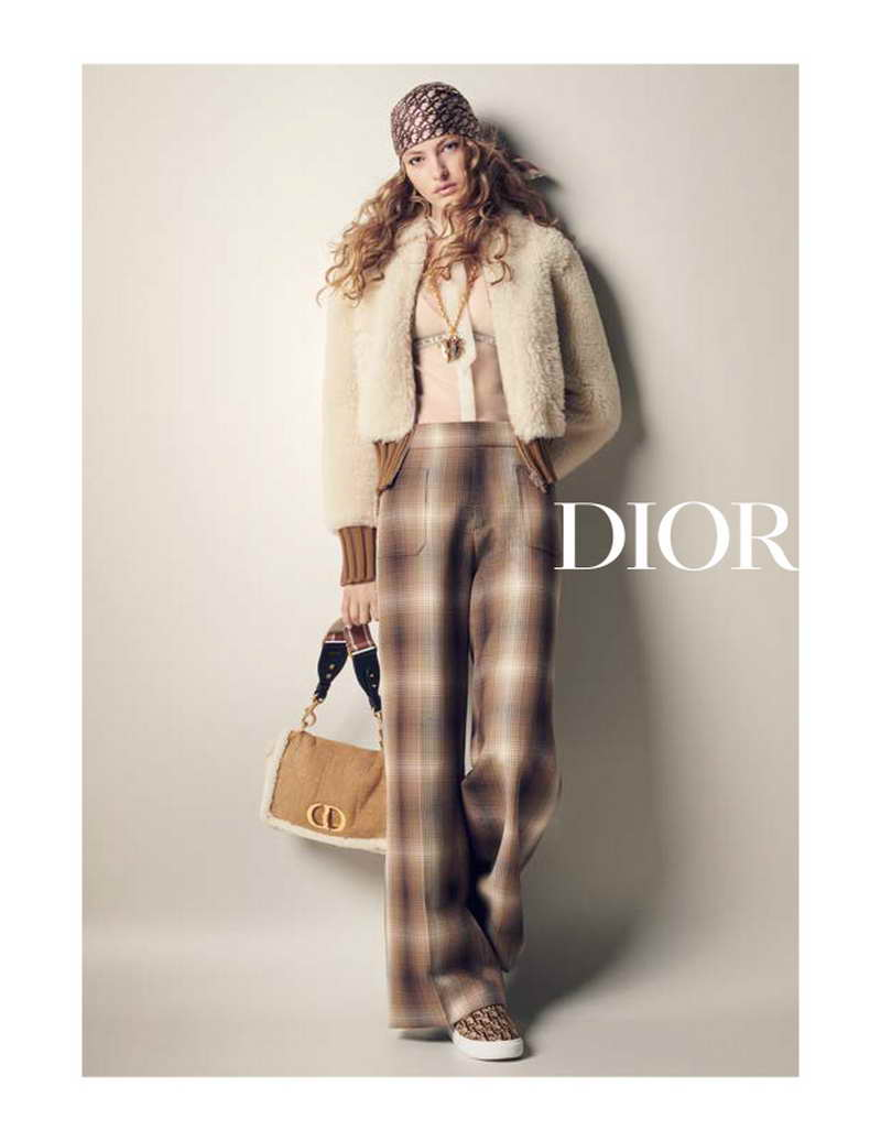 DIOR PRESENTS THE CAMPAIGN FOR THE AUTUMN-WINTER 2020-2021 WOMEN'S READY-TO-WEAR COLLECTION