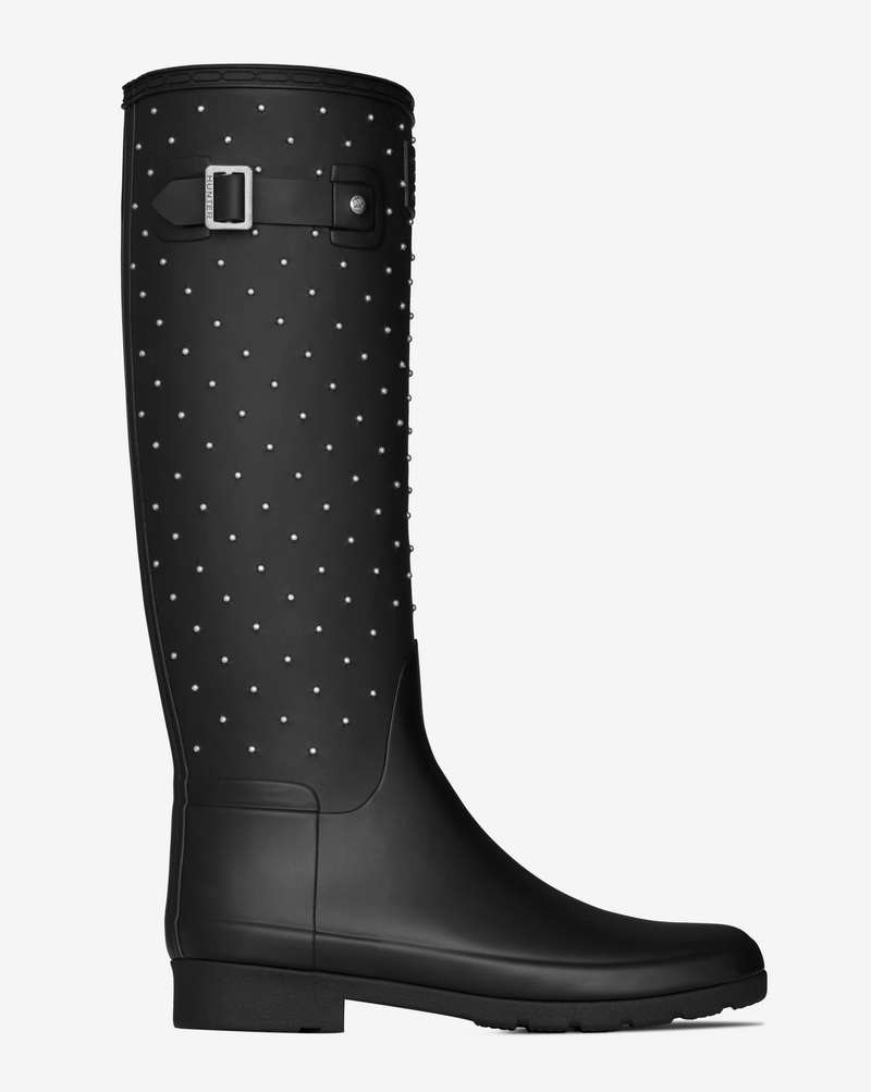 Saint Laurent Rive Droite / The Hunter Boots