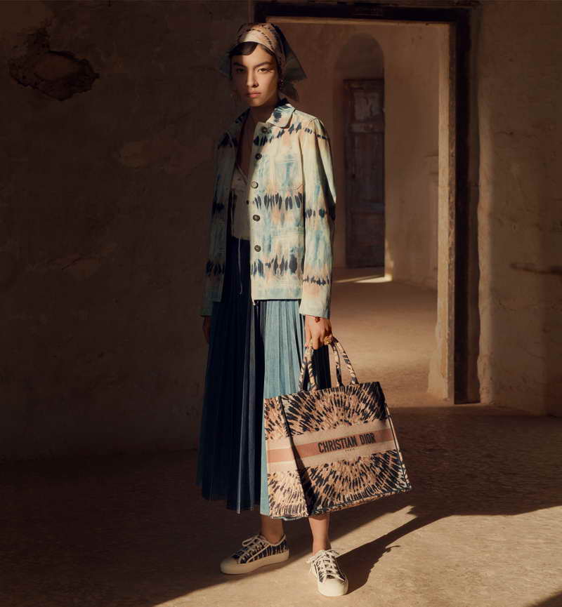 DIOR PRESENTS THE TIE-DYE CREATIONS