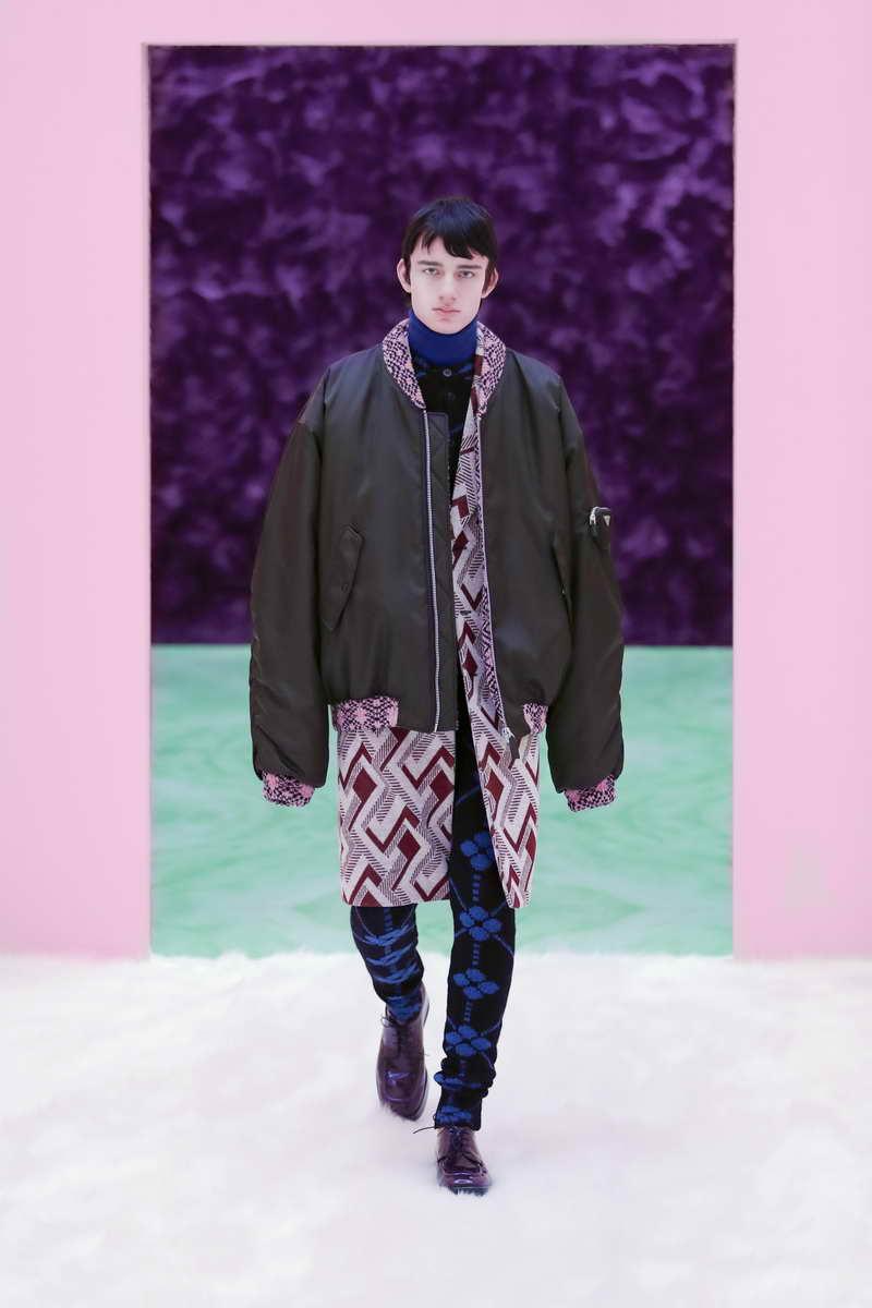 Prada Fall/Winter  2021 Menswear Show Possible Feelings