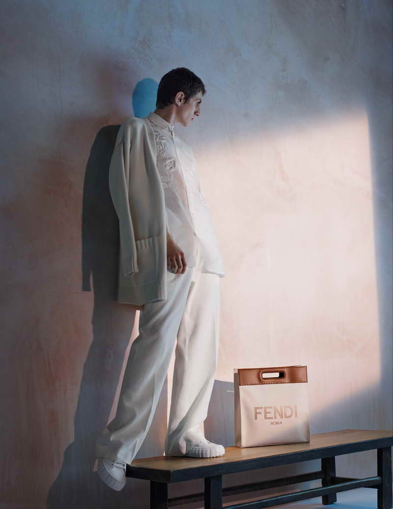 FENDI Women's and Men's Spring/Summer 2021 Advertising Campaign