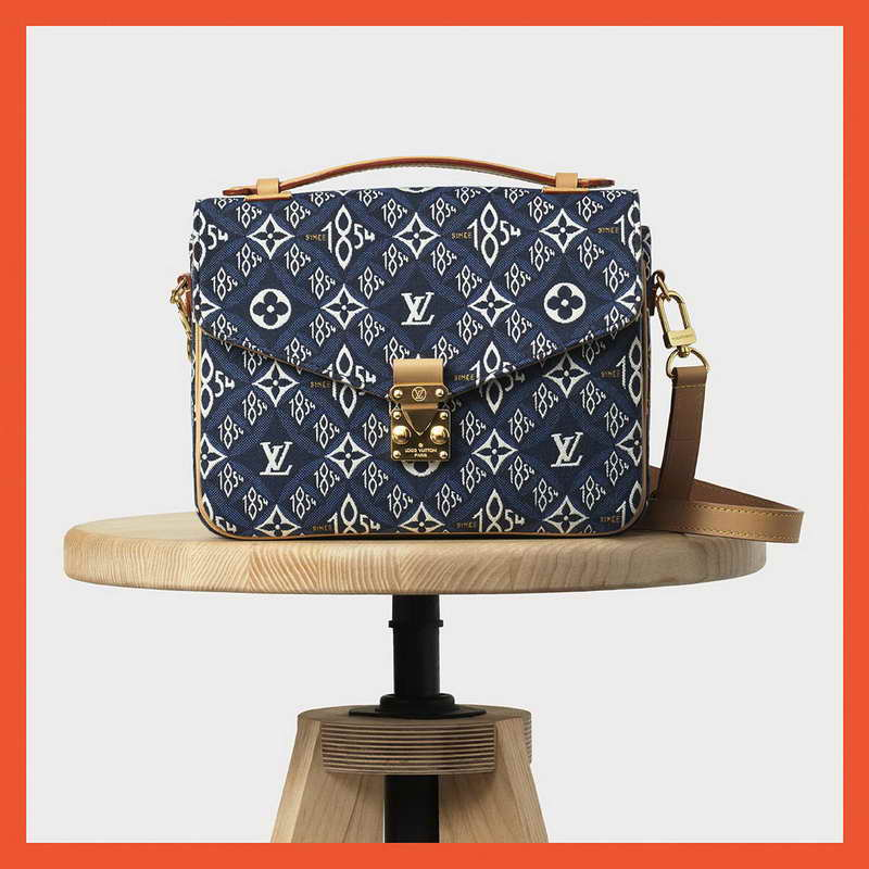 "Louis Vuitton ""Since 1854 Blue"""