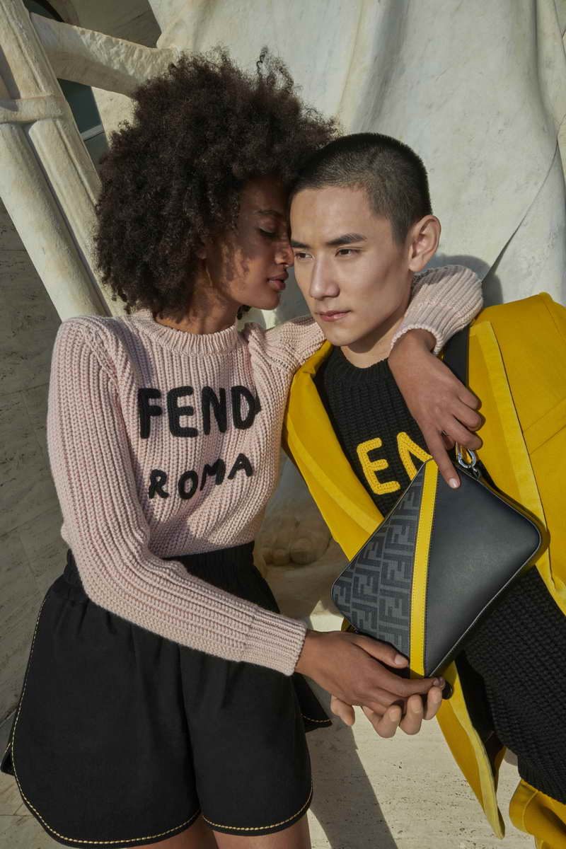 Celebrate your special someone with the FENDI 2021 St. Valentine's Day Collection