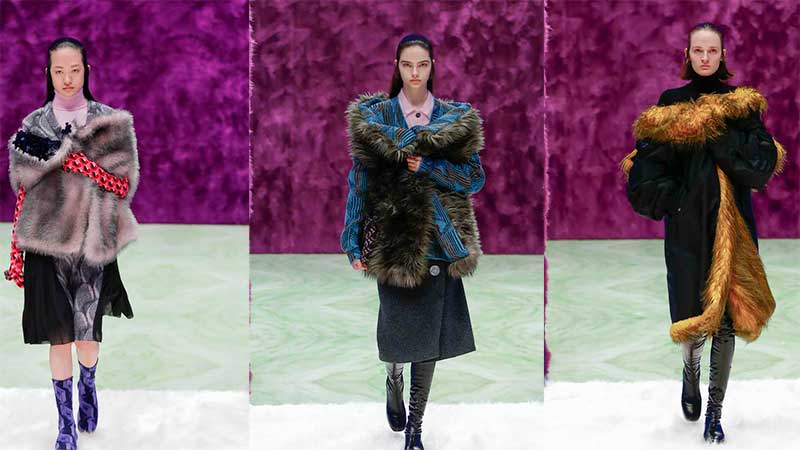 PRADA FALL/WINTER 2021 WOMENSWEAR SHOW
