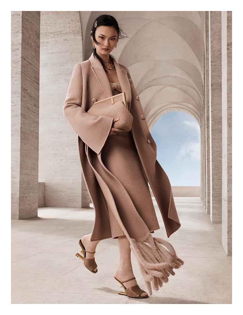 FENDI Women's Autumn/Winter 2021 Advertising Campaign