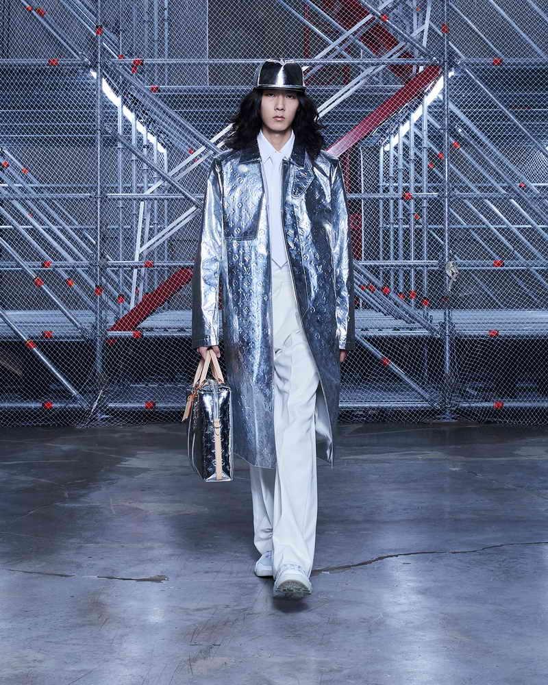 Louis Vuitton Men's collection by Virgil Abloh Fall-Winter 2021 - Photo courtesy of Louis Vuitton