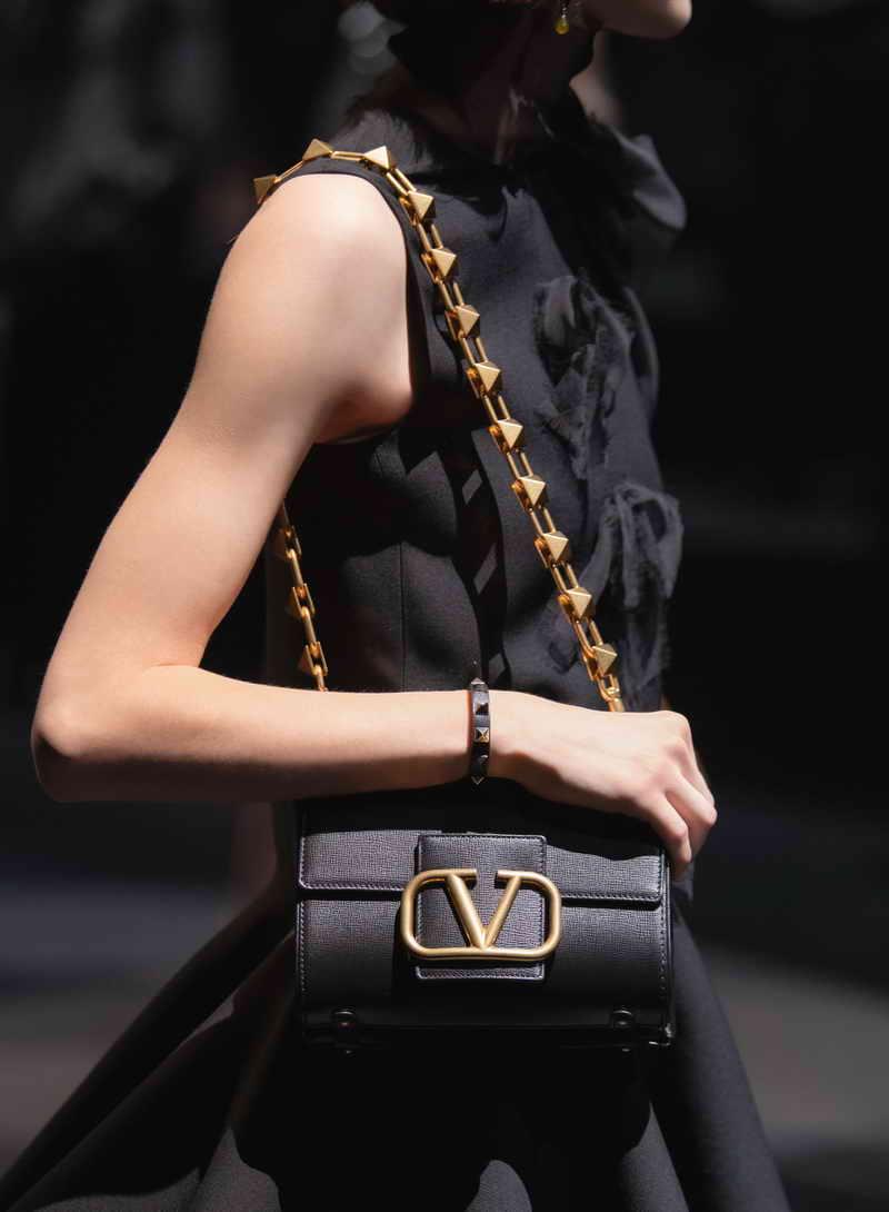 VALENTINO GARAVANI STUD SIGN BAG - Courtesy of Valentino