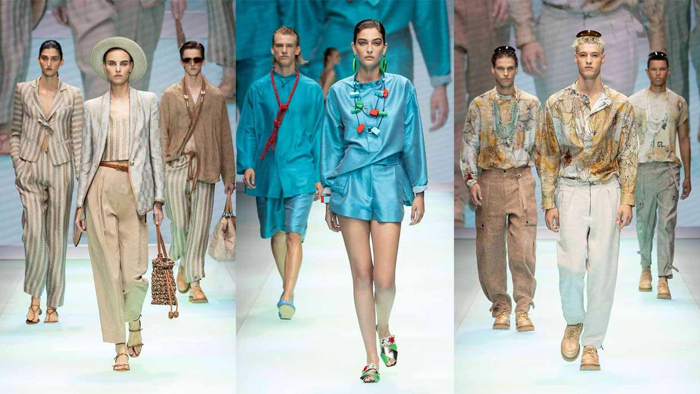 Emporio Armani Men's and Women's Spring/Summer 2022 Collection