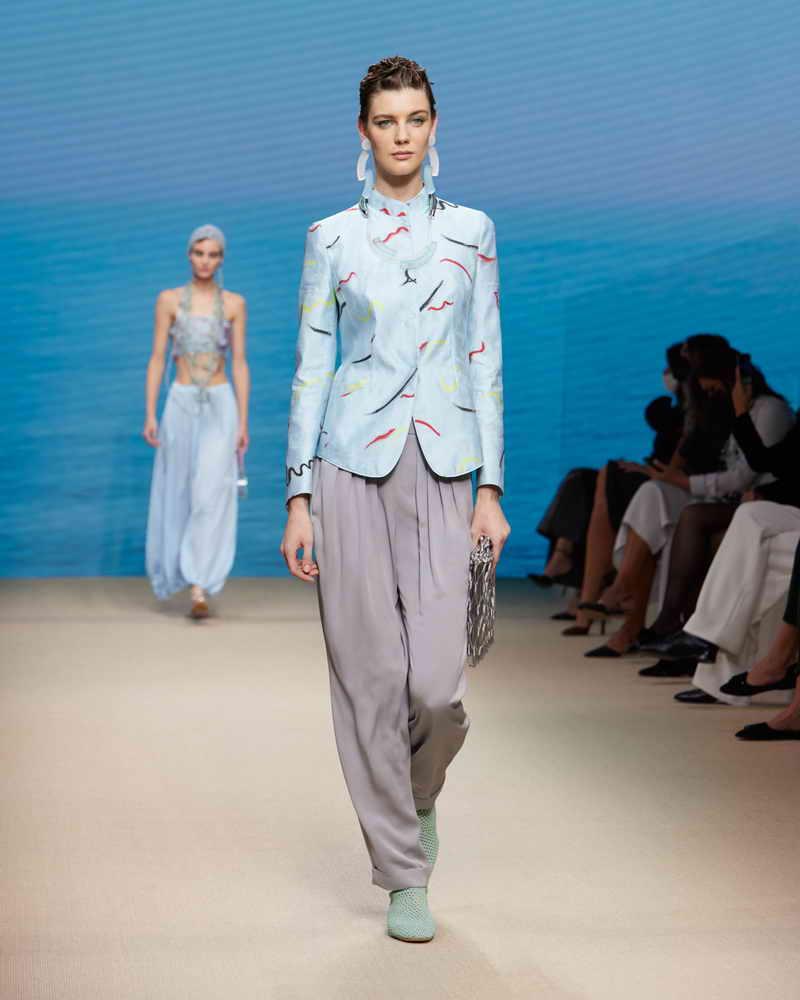 GIORGIO ARMANI 2022 Spring/Summer 2022 Women Collection