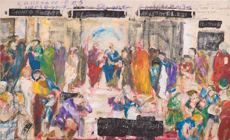 Canovaccio #5 - degli errori | The Philosophers' Clothes | Vittoria Chierici Solo Exhibition