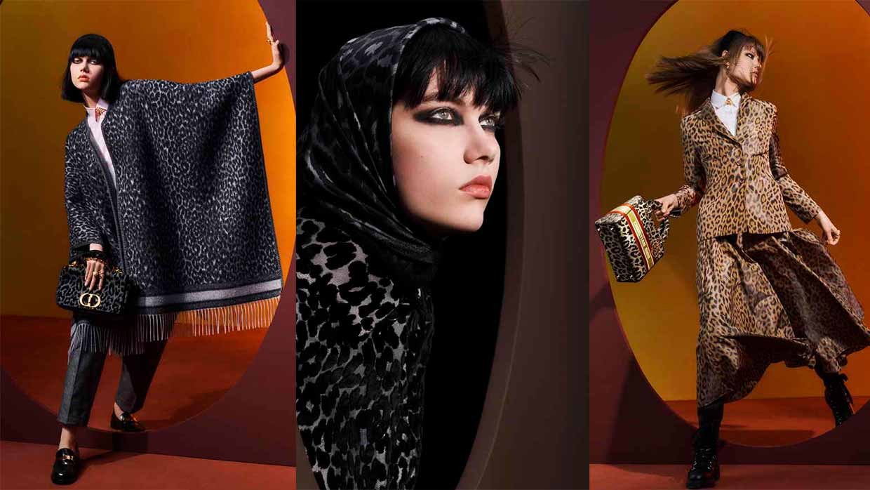 The Mizza Theme for the Dior Autumn-Winter 2021-2022 Women's Ready-To-Wear Collection