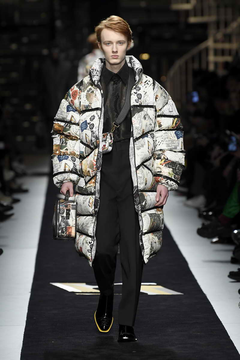 Fendi Men's Fall Winter 2019 2020 Collection