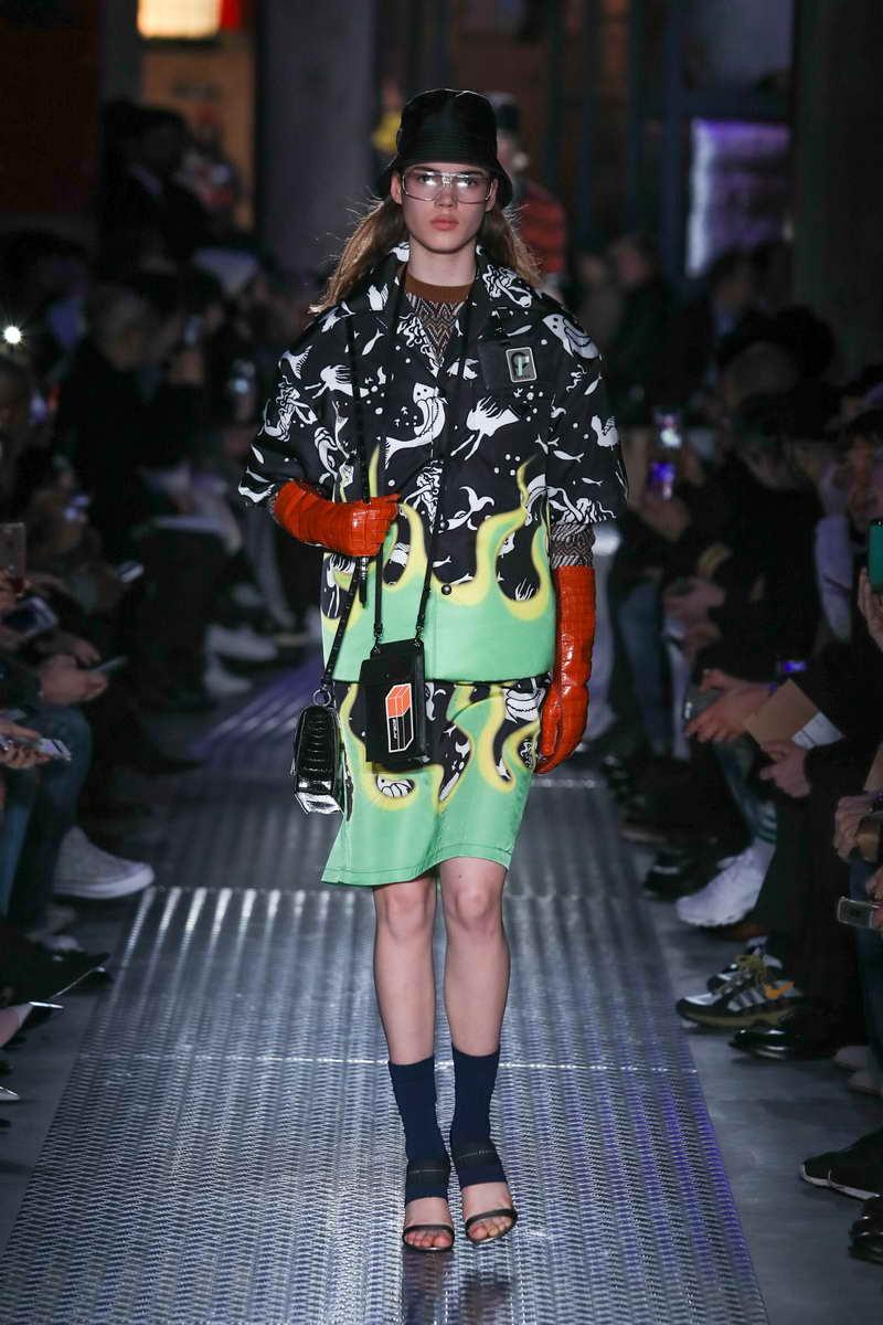 The Prada Fall/Winter 2018 Menswear and Womenswear show