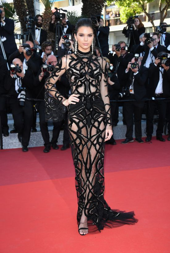 "CANNES, FRANCE - MAY 15:  Model Kendall Jenner attends the ""From The Land Of The Moon (Mal De Pierres)"" premiere during the 69th annual Cannes Film Festival at the Palais des Festivals on May 15, 2016 in Cannes, France.  (Photo by Venturelli/WireImage)"