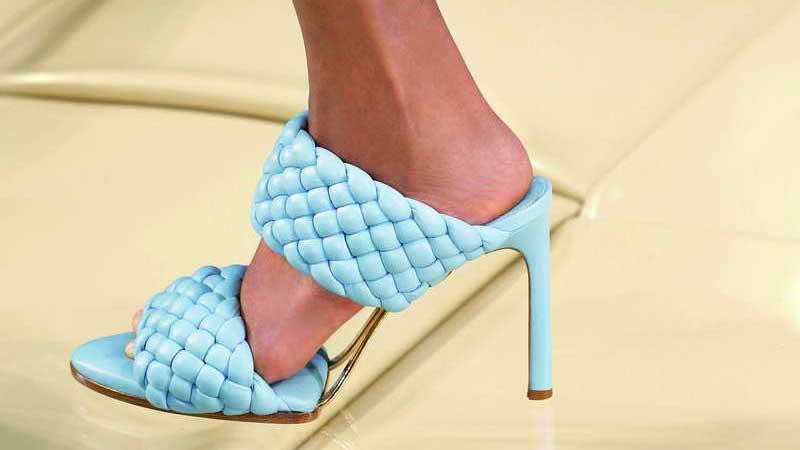 Bottega Veneta Shoes: BV Curve for Spring 2020