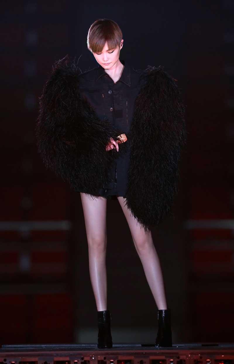 CHRIS LI 李宇春 IN SAINT LAURENT Summer 18 Collection