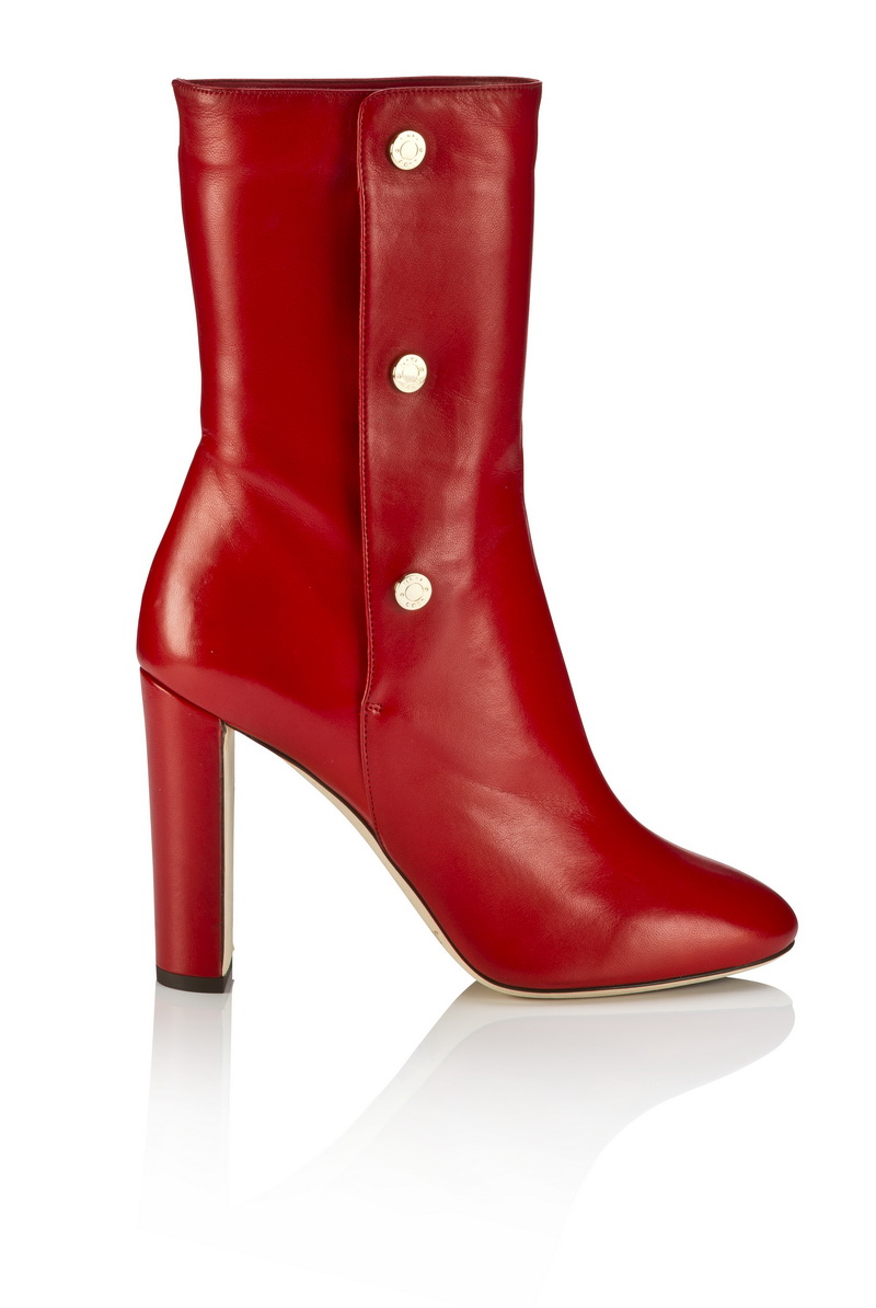 DAYNO -SOFT NAPPA LEATHER- RED/ MIST $12,600