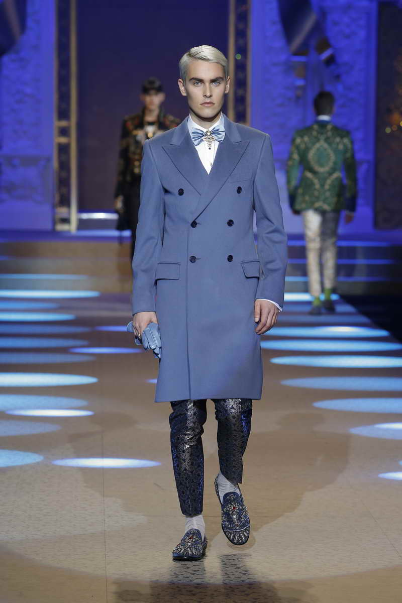 Dolce & Gabbana FW18-19 Men's Fashion Show