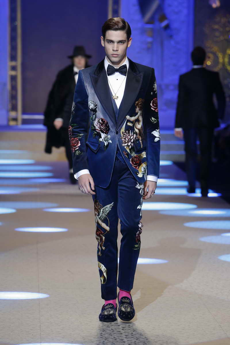 Dolce & Gabbana Men's Collection Fall Winter 2018 2019
