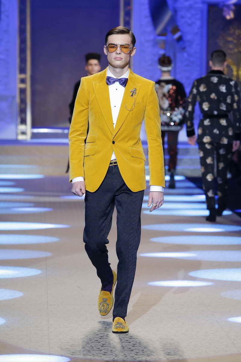 Dolce & Gabbana FW18-19 Men's Fashion Show