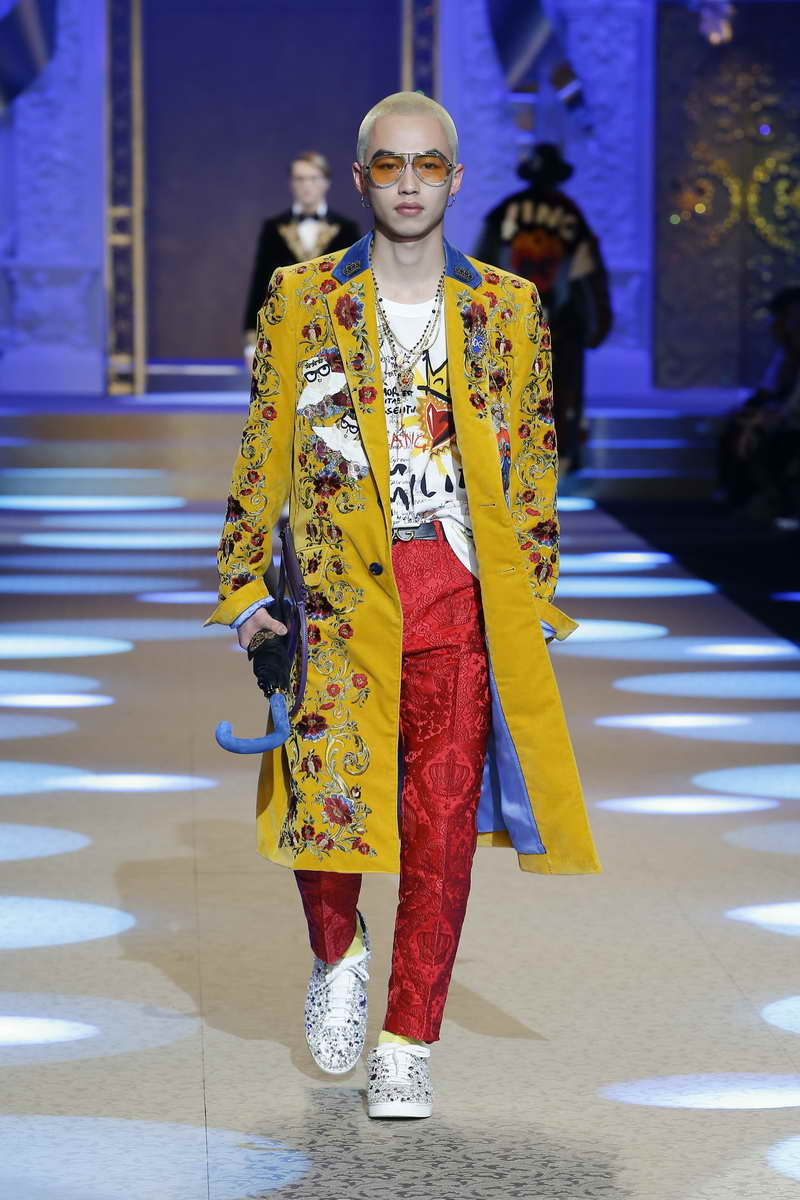 Dolce Amp Gabbana Men S Collection Fall Winter 2018 2019