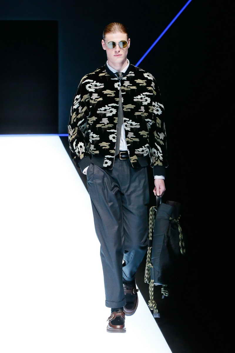 Emporio Armani Menswear Autumn/Winter 2018-19 秋冬男裝系列