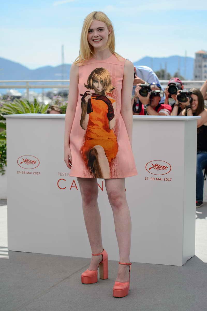 Elle Fanning in Prada - Cannes Film Festival