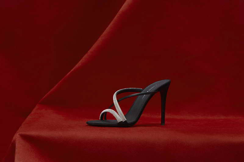 "Giuseppe Zanotti. A Dazzling Fall 2019 Preview Introducing the ""Croisette Crystal"""