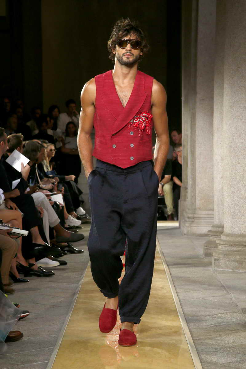 Giorgio Armani Men Spring/Summer 2020 Collection