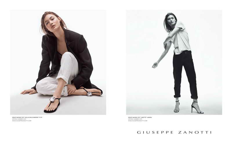 Natural Beauty. Pure Giuseppe: Introducing the new Giuseppe Zanotti. Photo by Craig McDean