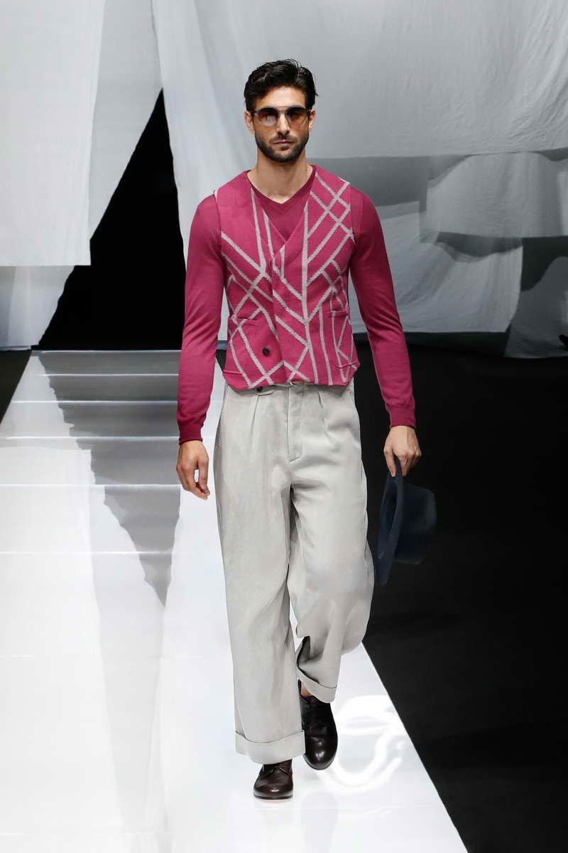 Giorgio Armani Spring Summer 2019 Men's Collection