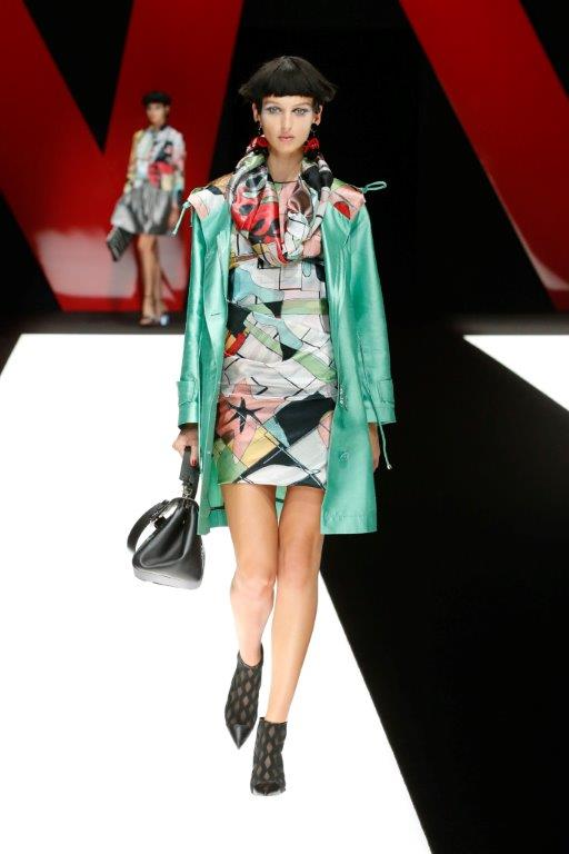 Giorgio Armani Womenswear Spring Summer 2018 Collection