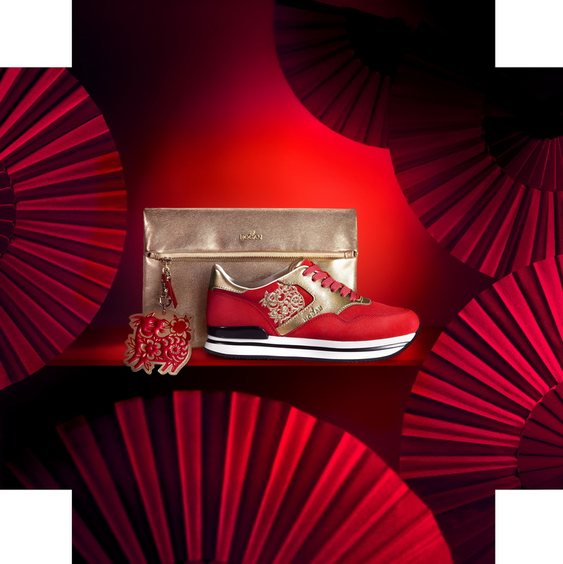 HOGAN 2015 CHINESE NEW YEAR LIMITED EDITION TREND bag HK$4800 H222 shoes HK$4300