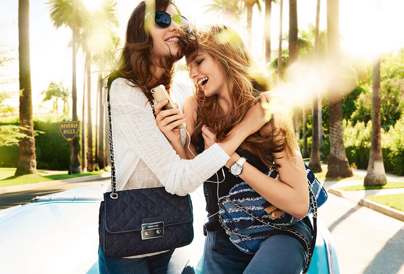 MICHAEL KORS SPRING 2016 AD CAMPAIGN