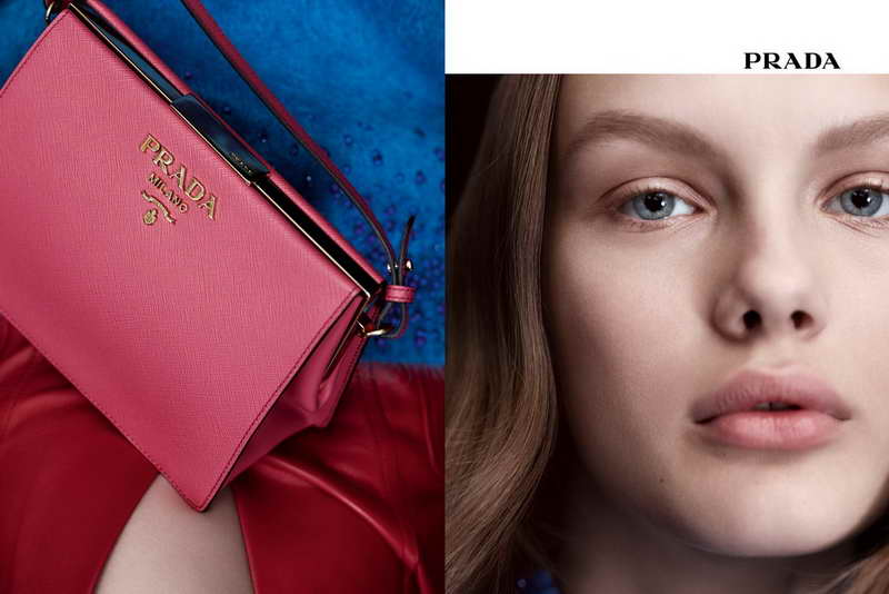 Prada presents Dialogue, a new visual identity for the Prada Fall/Winter 2017 Womenswear Advertising Campaign